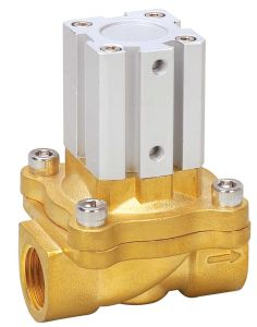 Pneumatic Cut off Air Control Two Way Valve 2q250-25 pictures & photos