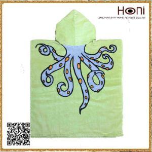 D-039 Hot Sale Popular Kids Poncho Towel pictures & photos