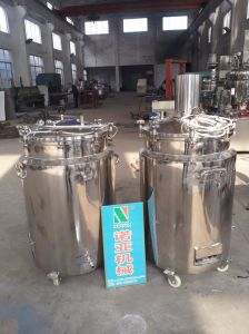 Heating And Cooling Mixing Tank pictures & photos