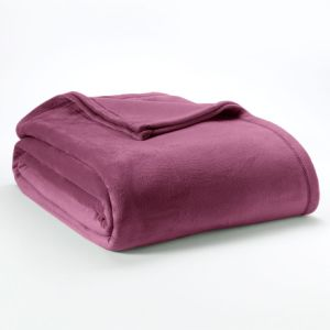 Double Brushed Velvet Fleece Bed Blankets for Bedspread pictures & photos