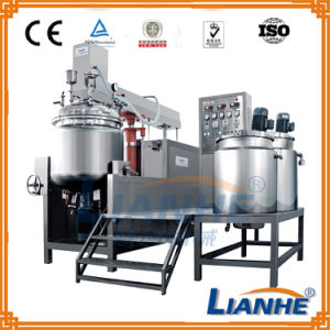Hair Cream Vacuum Emulsifying Mixer Machine pictures & photos