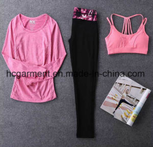 Quickly Dry Sports Suit for Women/Lady, Gym Wear, Running Wear pictures & photos