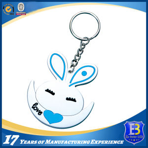 3D Rubber PVC Keychain with Nickel Ring pictures & photos