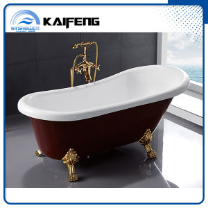 Red Upc Classic Acrylic Clawfoot Bathtub (KF-721C) pictures & photos