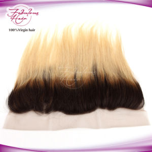 Wholesale Indian Hair Straight 1b/Blone Frontal Closure pictures & photos