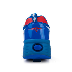 Kids Roller Shoes with One Wheel pictures & photos