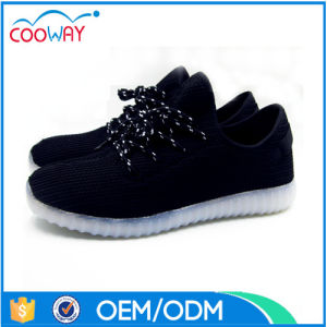 Fashion Light Men Shoes LED Casual Shoes Made in China