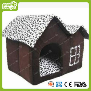 Speckle Double Roof House Dog Cotton House pictures & photos