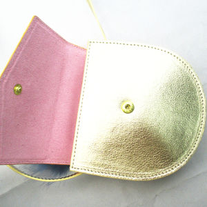 Gold Glitter Cat Cross Body Bag pictures & photos