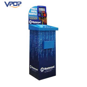 Corrugated Table Dump Display Bins for Digital Products Media Player