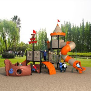 Castle Style Outdoor Playground for Sale pictures & photos