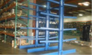 Vertical Warehouse Steel Cantilever Upright Storage Racking pictures & photos
