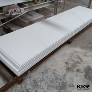 Building Material Plain White 100% Pure Acrylic Solid Surface Sheet pictures & photos