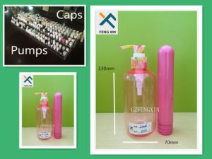 Screen Printing Surface Handling Pet Plastic Bottle with Pump Sprayer Sealing Type pictures & photos