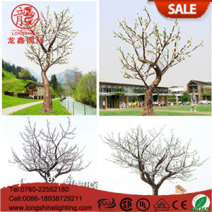 Color Change Christmas 6W 7.5m 3.5m LED Leafy Cherry Plam Tree Light for Decoration Light pictures & photos