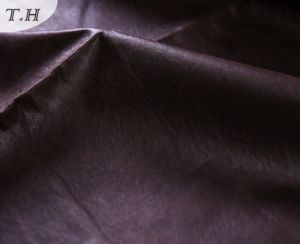 The Dark Faux Suede Upholstery Fabrics pictures & photos