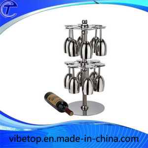 Stainless Steel Wine Cup Hanging Shelf with Factory Price pictures & photos