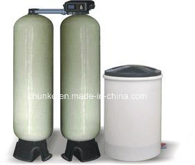 Chunke PLC Control 20-30m/H Salt Water Softener for RO System pictures & photos