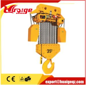 Construction Lifting of 3ton Electric Chain Hoist pictures & photos