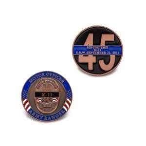 3D Enamel Firefighter Souvenir Challenge Coin pictures & photos