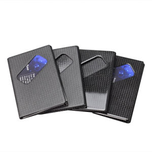 Good Quality Carbon Fiber High Double Card Holder pictures & photos