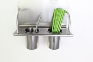 Most Popular Kitchen Accessory Stainless Steel Double Cup Holder (611) pictures & photos