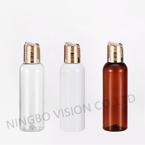 Plastic Bottles, Clear Pet Cosmo Round Bottles with White Fine Mist Sprayers pictures & photos