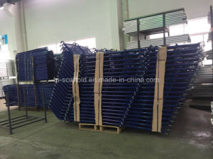 Powder Coated Steel Scaffold Stairs Starways for Scaffolding Frame pictures & photos