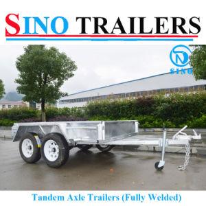 10X5 Tandem Axle Box Trailer