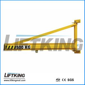 Mobile Wall Travelling Jib Crane for Workshop pictures & photos