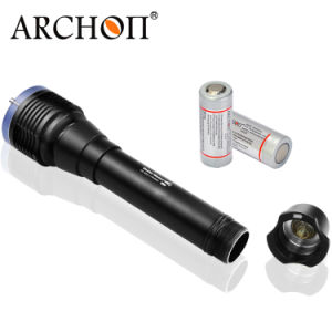 Archon-W28-II Professional Scuba Diver Diving Flashlight Waterproof Fishing Hunting Torch pictures & photos