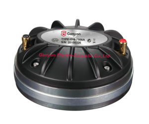 "High Quality 3"" Compression Driver, Neodymium Magnet Tweeter, 1.5"" Horn Throat Diameter Loudspeaker pictures & photos"