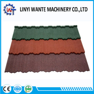 Colorful Construction Material Stone Coated Metal Nosen Roof Tile pictures & photos