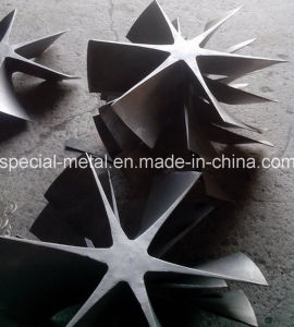 Lost Wax Casting HK40 HP40 Heat Treatment Furnace Fan pictures & photos