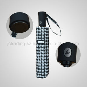Automatic Open&Close 3 Folding Umbrella Rain Umbrella (JF-APC302) pictures & photos