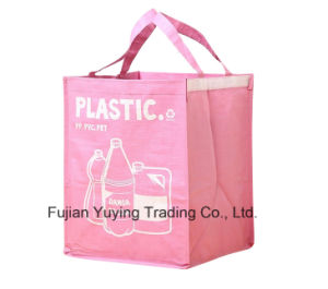 Three Colours Non Woven Tote Bag with Customized Printing pictures & photos