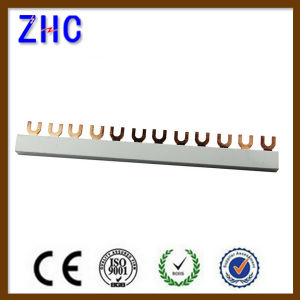 Factory Price of U Type 2 Pin Electric Copper Bus Bar pictures & photos