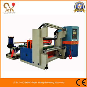 Automatic BOPP Film Slitter Rewinder Machine (JT-SLT-1300C) pictures & photos