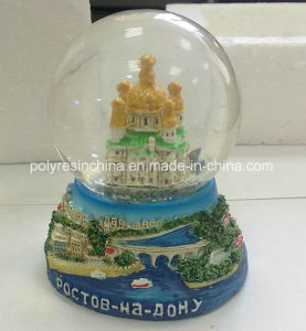 Souvenir Snow Globe of Russian Crafts pictures & photos