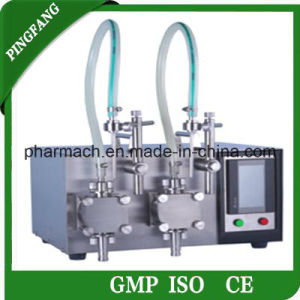 Gzd200 Tabletop Digital Filling Machines for Double Pump pictures & photos