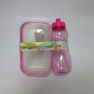 900ml Lunch Box with 550ml Drinking Bottle pictures & photos