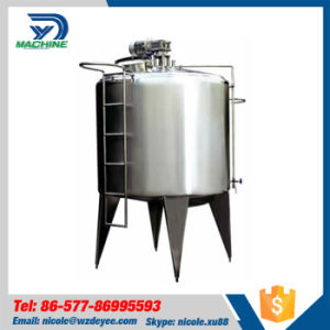 Food Grade Ss304 Electric Heating Mixing Tank with Agitator