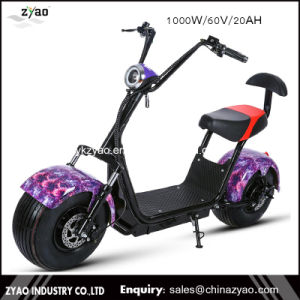 Powerful Cheap Electric Scooter Aldut Electric Scooters City Coco Fat Wheel pictures & photos