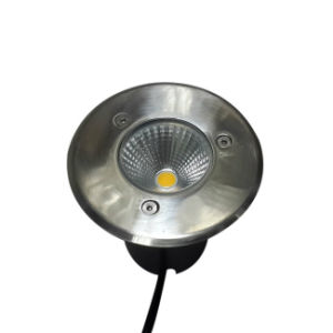 3W Stainless Steel LED Underground Light IP65 pictures & photos