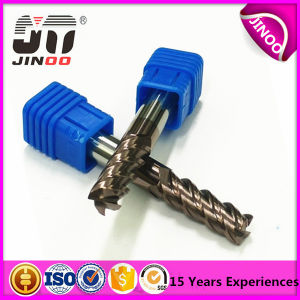Solid CNC Carbide End Mill Helix45 End Mill for Steel pictures & photos