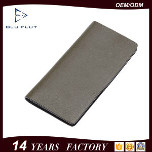 Made in Italian Leather Fashion Cowhide Leather Card Wallets pictures & photos