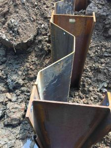 Sheet Piles Cold Formed