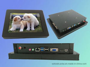 "15"" IP54 Front Panel Waterproof Resistive Touch Screen All in One PC pictures & photos"