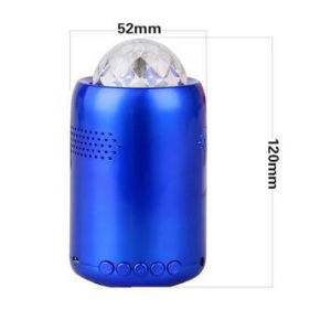 Colorful Rotating Light Wireless Professional Stereo Bluetooth Mini Loudspeaker pictures & photos