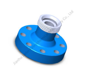 "2-1/16"" 5m Threaded Flange for Wellhead with API 6A pictures & photos"